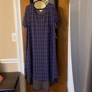 Carly 3xl LuLaRoe dress NWT